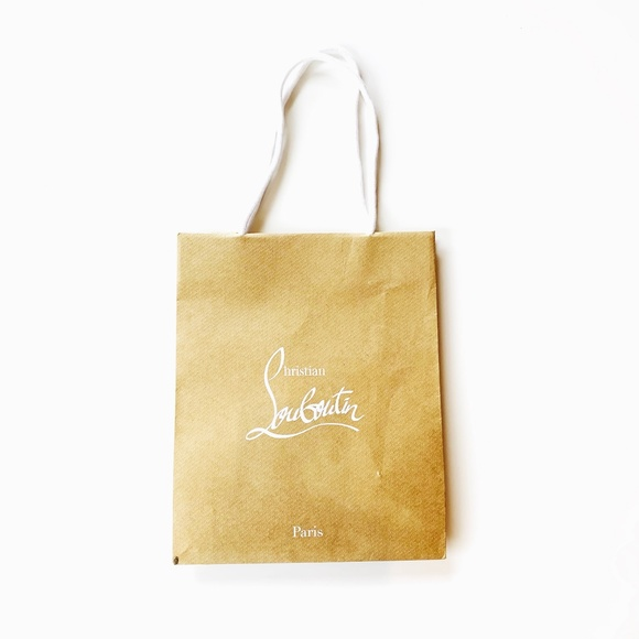 Christian Louboutin Other - Christian Louboutin Paris Shoe Shopping Bag